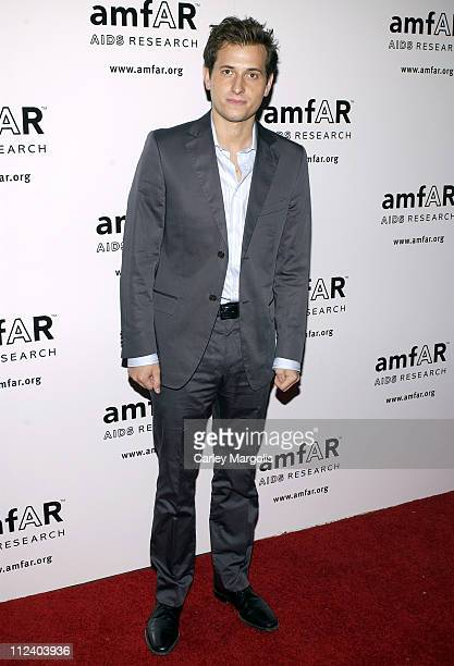 Peter Cincotti during 14th Annual amfAR Rocks Benefit at Tavern on the Green in New York City New York United States