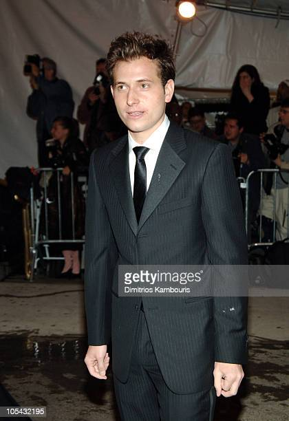 Peter Cincotti during 'Chanel' Costume Institute Gala at The Metropolitan Museum of Art Arrivals at The Metropolitan Museum of Art in New York City...