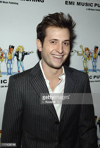 Peter Cincotti during EMI Music Publishing Holiday Party December 12 2005 at Rockefeller Center Ice Rink and Restaurant in New York City New York...