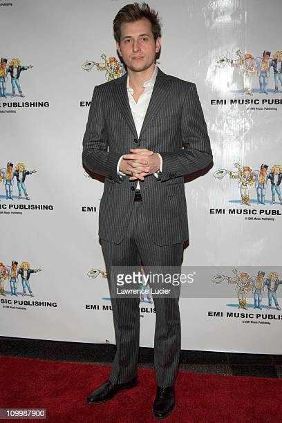 Peter Cincotti during EMI Publishing's Winter Wonderland Party December 12 2005 at Rockefeller Center Cafe in New York City New York United States