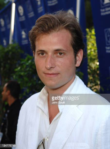 Peter Cincotti during Starry Night Benefit Honoring Los Angeles Mayor Antonio Villaraigosa Red Carpet at Villa Casablanca in Malibu California United...