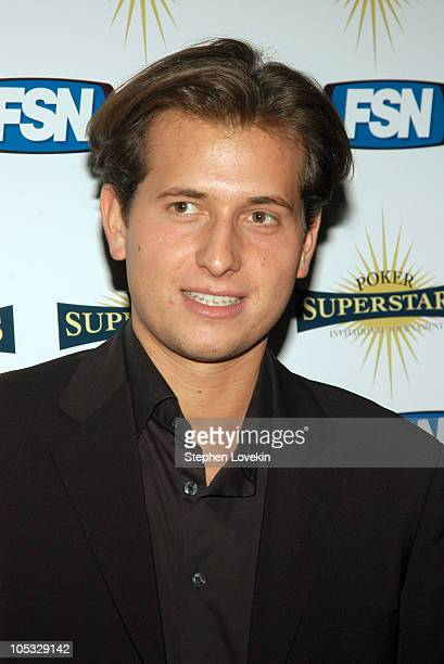 Peter Cincotti during The Poker Superstars Invitational Tournament Launch Party at Stone Rose at The Time Warner Center in New York City New York...