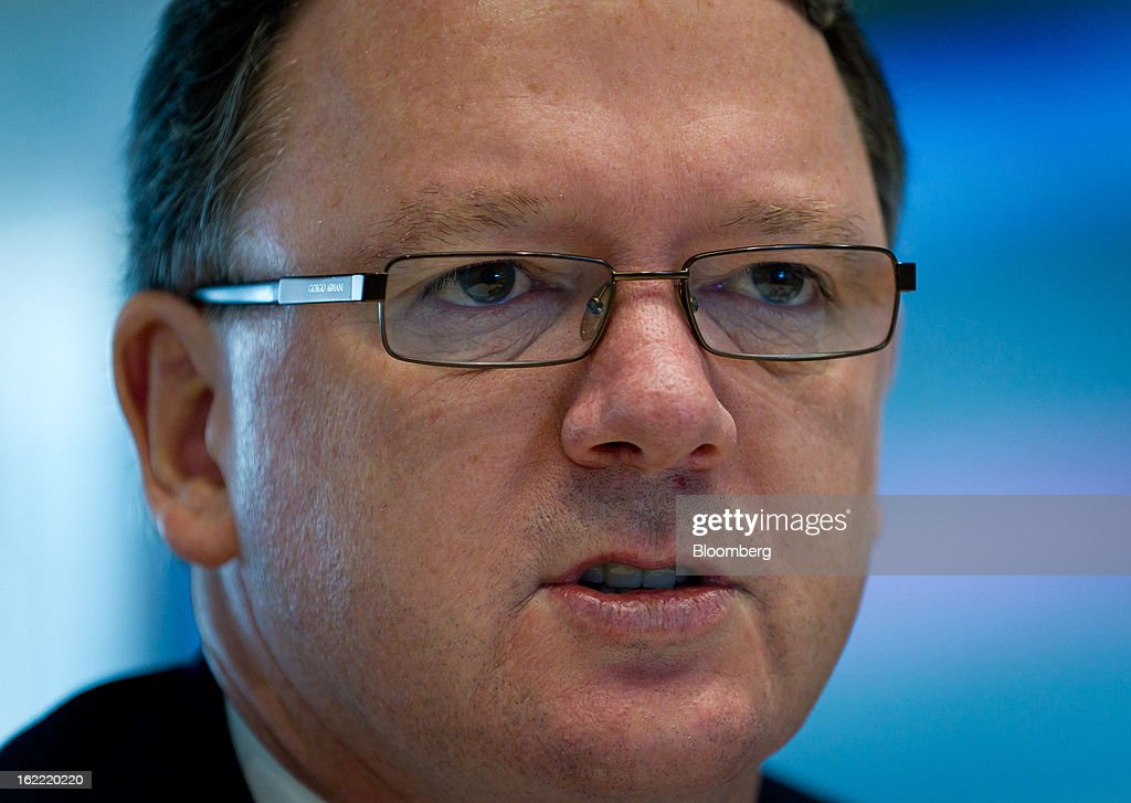 Peter Coleman, chief executive officer of Woodside Petroleum Ltd., speaks during an interview in Sydney, Australia, on Thursday, Feb. 21, 2013. Woodside Petroleum, Australia's second-biggest oil producer, said it's in talks with companies for a potential partnership to tap the natural gas industry in Canada. Photographer: Ian Waldie/Bloomberg via Getty Images