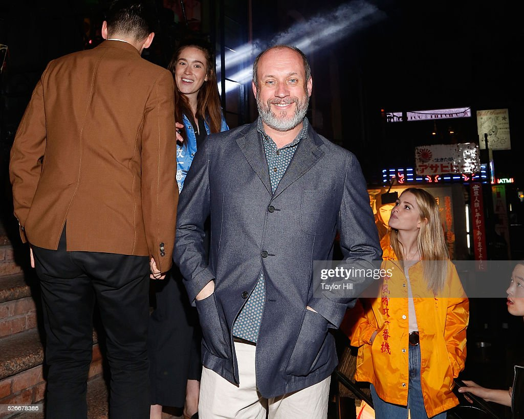 <a gi-track='captionPersonalityLinkClicked' href=/galleries/search?phrase=Peter+Copping&family=editorial&specificpeople=6715494 ng-click='$event.stopPropagation()'>Peter Copping</a> attends the Vogue.com Met Gala Cocktail Party at Search & Destroy on April 30, 2016 in New York, New York.