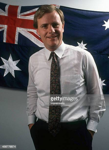 Peter Costello Liberal member for Higgins and former Australian treasurer in the Howard Government