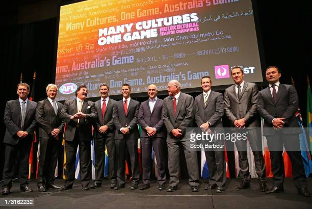 Peter Daicos Dermott Brereton Robert DiPierdomenico Alastair Lynch Simon Black Wayne Schwass Alex Jesaulenko John Worsfold Anthony Koutoufidies and...