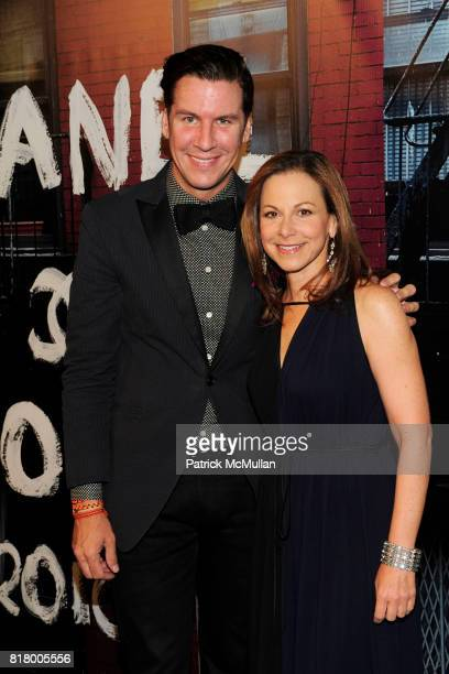 Peter Davis and Bettina Zilkha attend CHANEL Soho Boutique Opening Party ARRIVALS at Chanel Soho on September 9 2010 in New York City