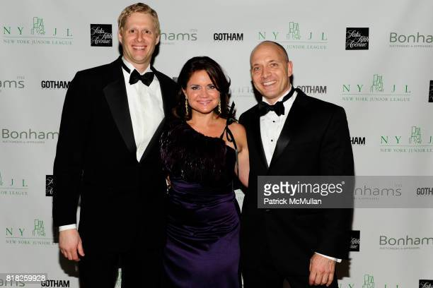 Peter Denby Julia Boland Bleetstein and Bj Engler attend NEW YORK JUNIOR LEAGUE'S 2010 Winter Ball at The Plaza Hotel on February 25th 2010 in New...