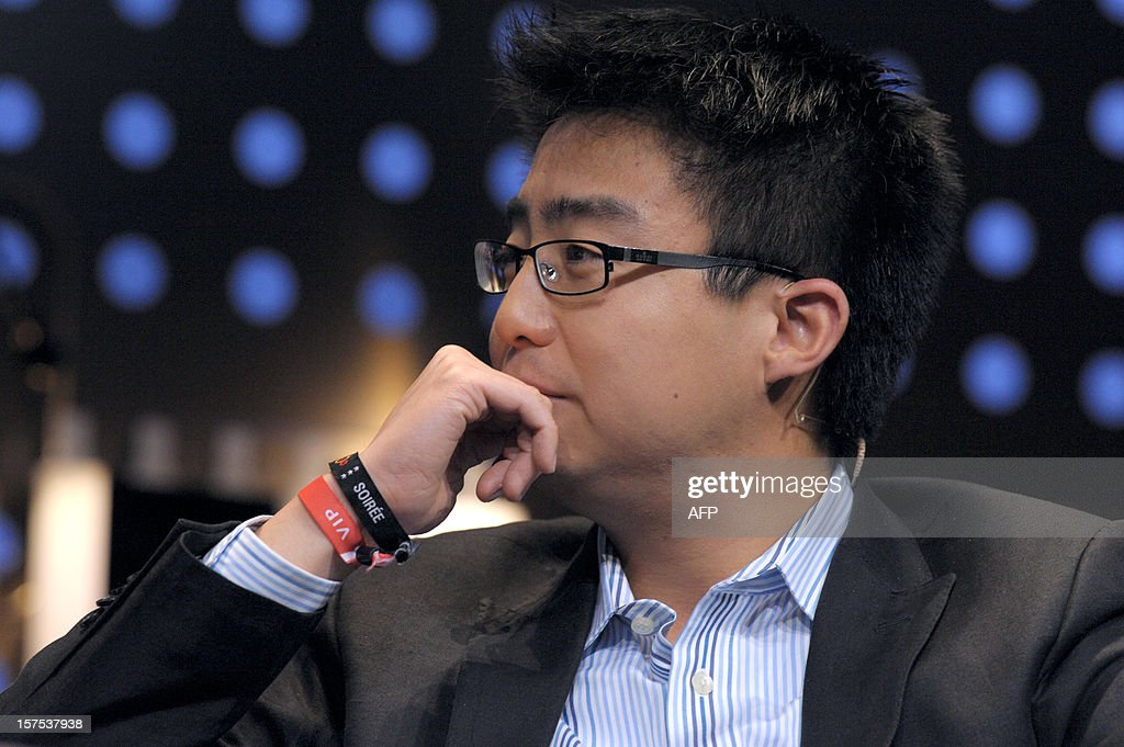 Peter Deng, Facebook Director of Product Management takes part in a session at LeWeb Paris 2012 in Saint-Denis near Paris on December 4, 2012.