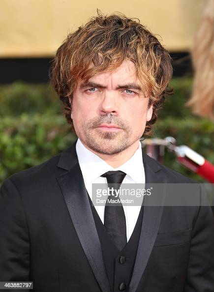 Peter Dinklage arrives at the 20th Annual Screen Actors Guild Awards at the Shrine Auditorium on January 18 2014 in Los Angeles California