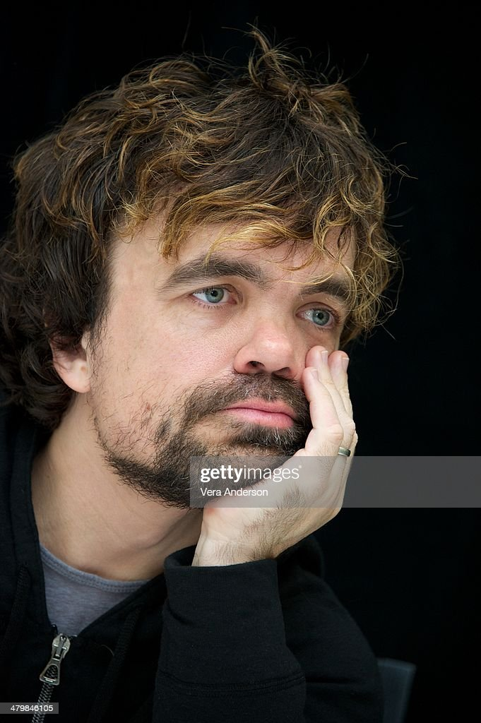 Peter Dinklage at the 'Game Of Thrones' Press Conference at The London Hotel on March 19 2014 in New York City