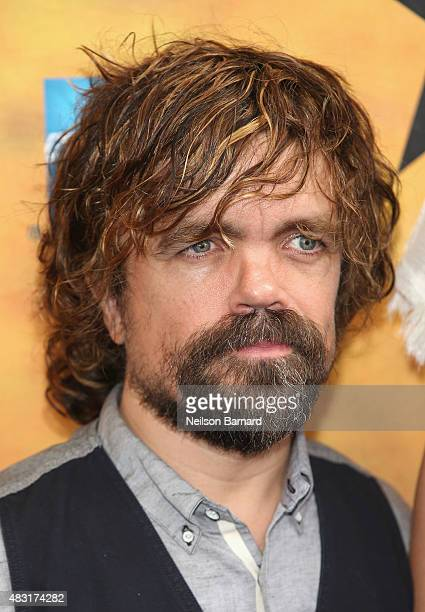 Peter Dinklage attends 'Hamilton' Broadway Opening Night at Richard Rodgers Theatre on August 6 2015 in New York City