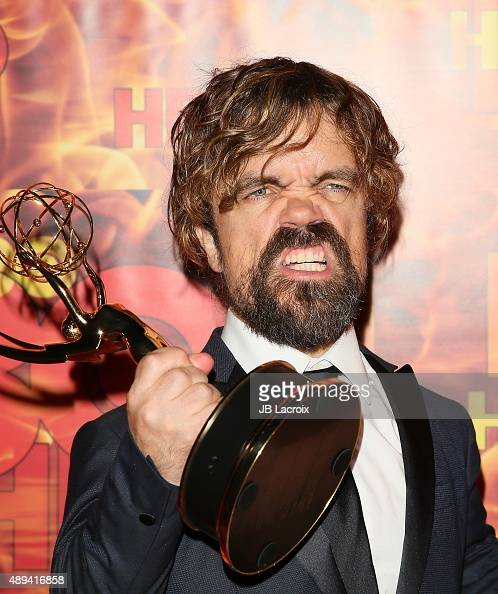 Peter Dinklage attends HBO's Official 2015 Emmy After Party at The Plaza at the Pacific Design Center on September 20 2015 in Los Angeles California