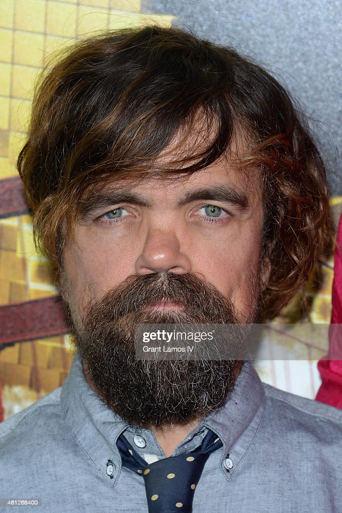 Peter Dinklage attends the 'Pixels' New York Premiere at Regal EWalk on July 18 2015 in New York City