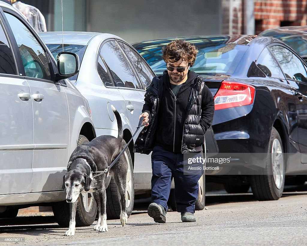 Peter Dinklage is seen on March 22, 2014 in New York City.