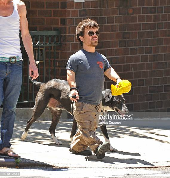 Peter Dinklage is seen on the streets of Manhattan on May 30 2010 in New York City