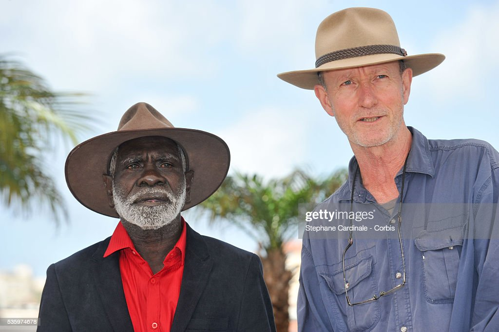 Peter Djigirr and Rolf de Heer at the the 'Charlie's Country' Photocall during the 67th Cannes Film Festival