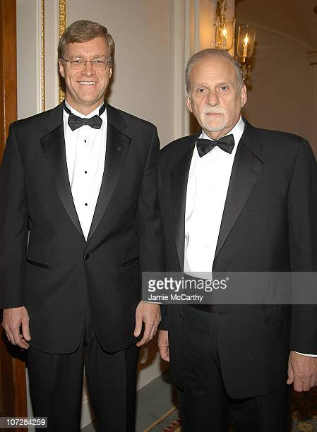 Peter Dolan chairman/CEO of BristolMyers Squibb and Jerry Radwin CEO of amfAR at amfAR's New York Gala to Honor Patti LaBelle Sumner Redstone and...