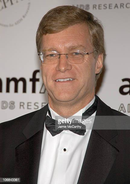 Peter Dolan chairman/CEO of BristolMyers Squibb at amfAR's New York Gala to Honor Patti LaBelle Sumner Redstone and Peter Dolan