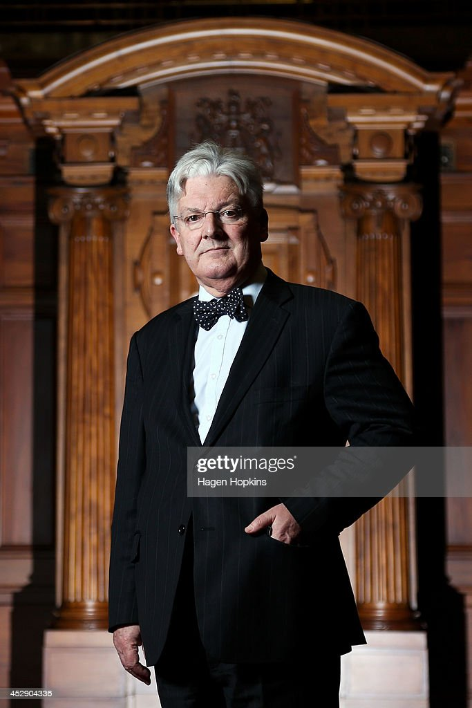 Peter Dunne poses during a portrait session at Parliament on July 30, 2014 in Wellington, New Zealand. New Zealanders will head to the polls on September 20 for the 2014 General Election to determine the membership of the 51st New Zealand Parliament.