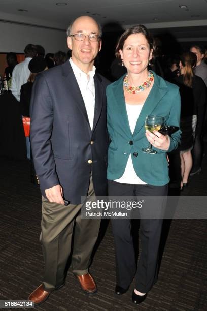 Peter Elkind and Laura Elkind attend TIME INC Live and Unfiltered Presents ROUGH JUSTICE Hosted by FORTUNE at Time and Life Building Screening Room...