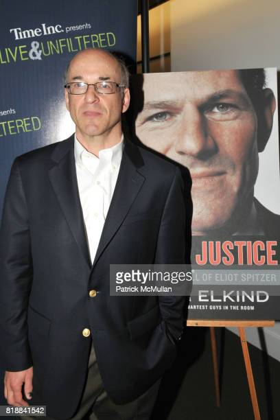 Peter Elkind attends TIME INC Live and Unfiltered Presents ROUGH JUSTICE Hosted by FORTUNE at Time and Life Building Screening Room on April 26 2010...