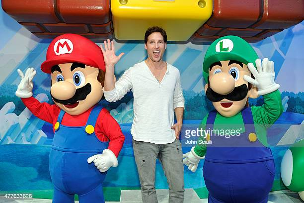 Peter Faccinelli attends Nintendo hosts celebrities at 2015 E3 Gaming Convention at Los Angeles Convention Center on June 18 2015 in Los Angeles...