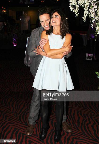 Peter Facinelli and Nikki Reed attend the Opening of The Twilight Forever Fan Experience Exhibit featuring priceless memorabilia at Planet Hollywood...