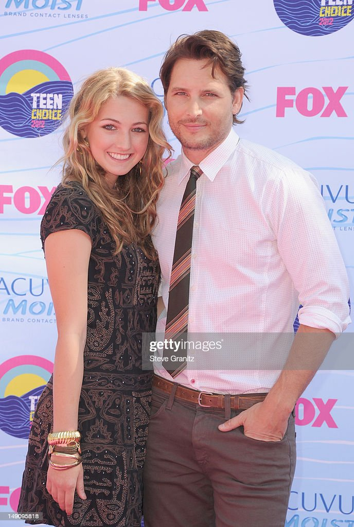 Peter Facinelli arrives at the 2012 Teen Choice Awards at Gibson Amphitheatre on July 22 2012 in Universal City California