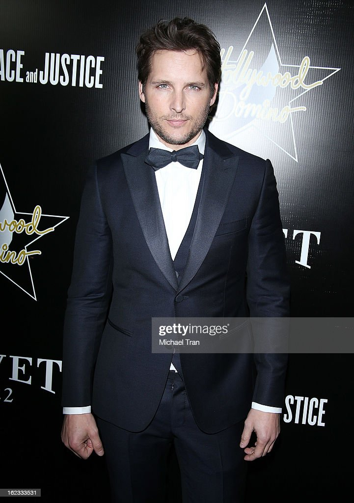 Peter Facinelli arrives at the 6th Annual Hollywood Domino Pre-Oscar Gala & Tournament held at Sunset Tower on February 21, 2013 in West Hollywood, California.