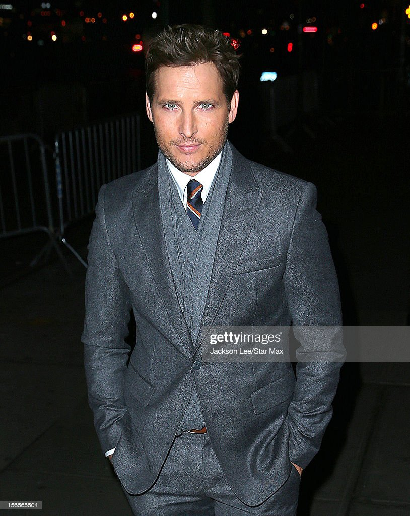 Peter Facinelli as seen on November 15, 2012 in New York City.