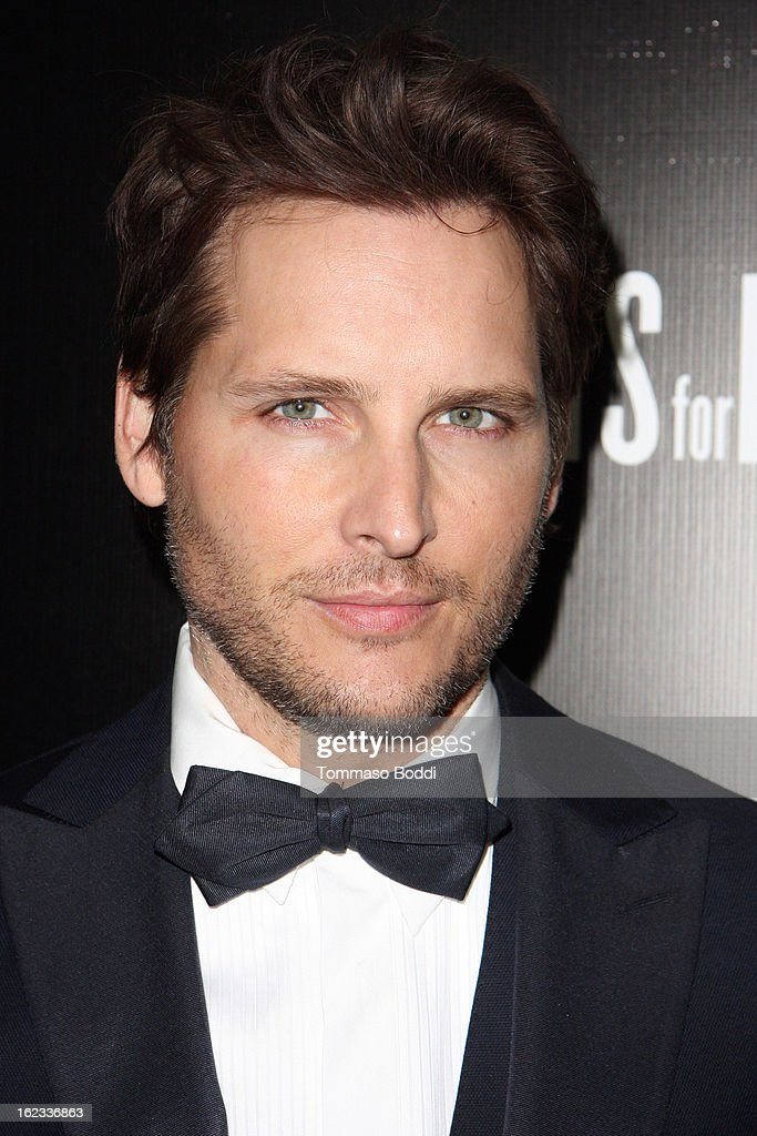 Peter Facinelli attends the 6th annual Hollywood Domino Gala & Tournament held at teh Sunset Tower on February 21, 2013 in West Hollywood, California.