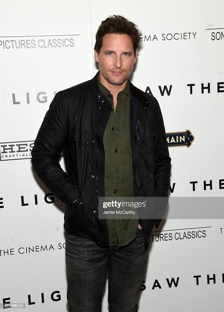 Peter Facinelli attends The Cinema Society With Hestia StGermain host a screening of Sony Pictures Classics' 'I Saw the Light' at Metrograph on March...