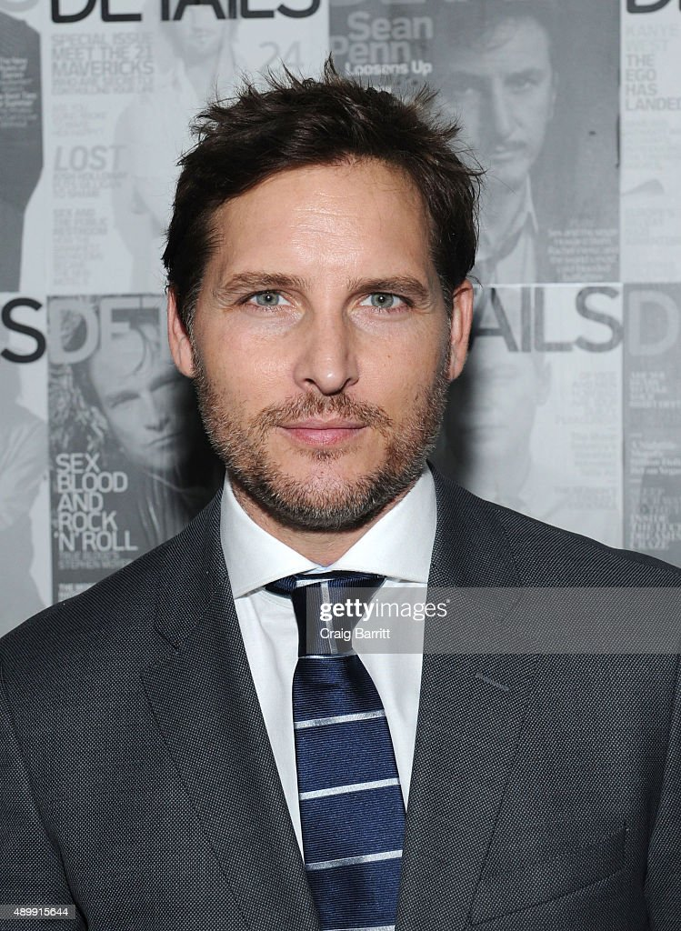 Peter Facinelli attends the DETAILS magazine 15th anniversary celebration on September 24, 2015 in New York City.