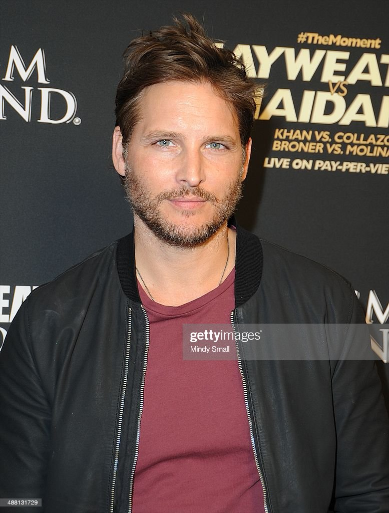 Peter Facinelli attends the Mayweather Vs. Maidana Pre-Fight Party Presented By Showtime at MGM Garden Arena on May 3, 2014 in Las Vegas, Nevada.