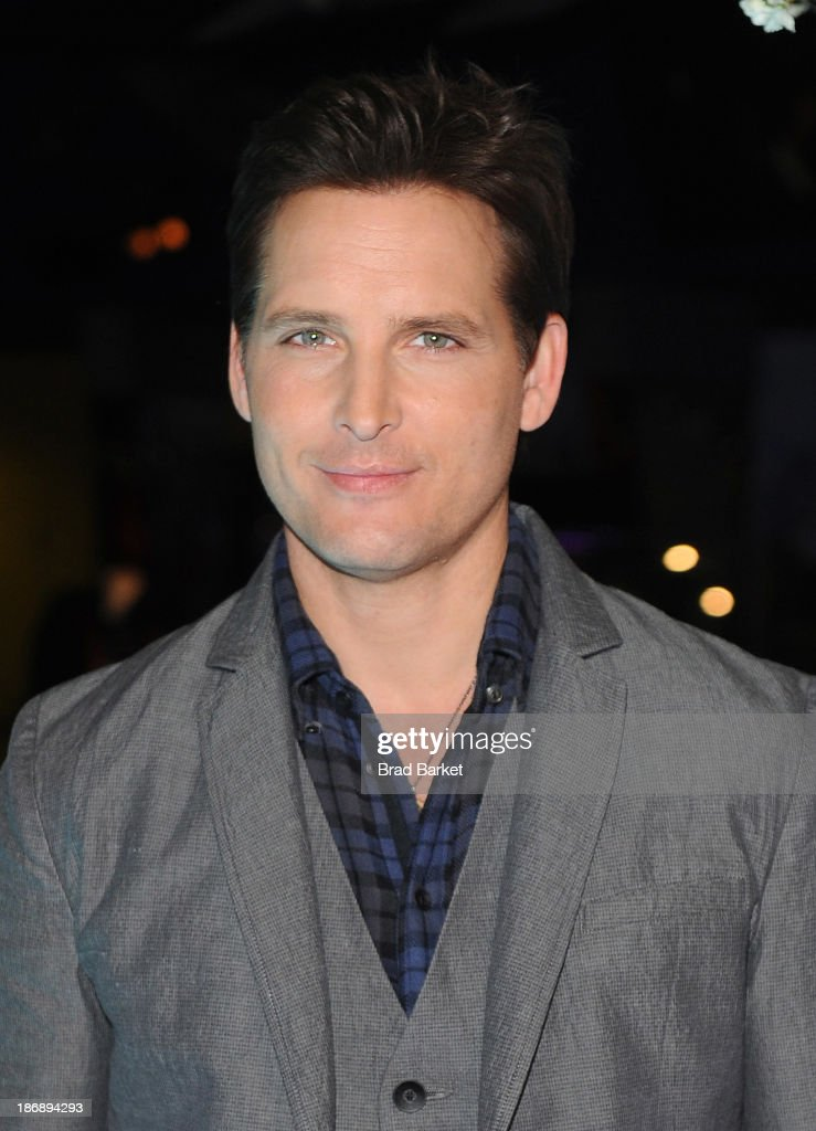 Peter Facinelli attends the Twilight Forever Fan Experience Exhibit launch at Planet Hollywood Times Square on November 4 2013 in New York City