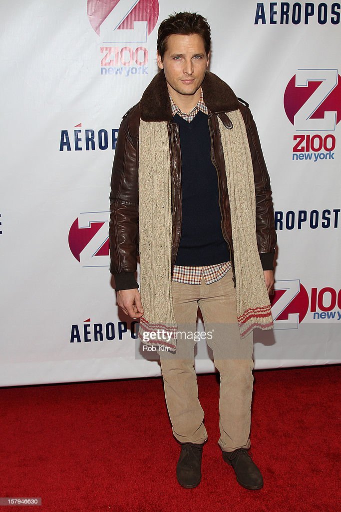 Peter Facinelli attends Z100's Jingle Ball 2012 presented by Aeropostale at Madison Square Garden on December 7, 2012 in New York City.