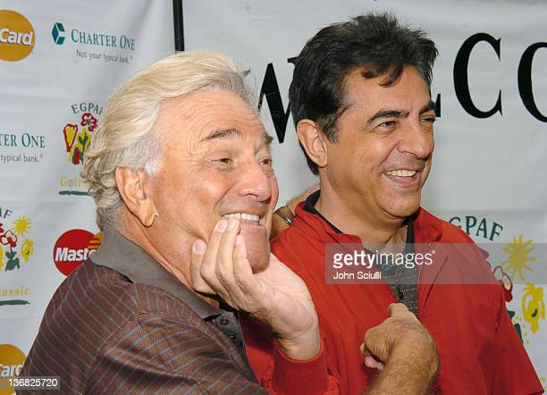Peter Falk and Joe Mantegna at the 6th Annual Golf Classic benefiting the Elizabeth Glaser Pediatric AIDS Foundation