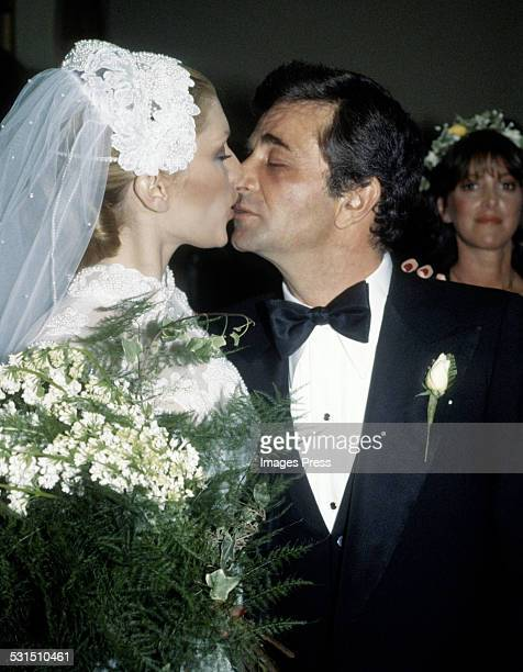Peter Falk and Shera Danese circa 1977 in Los Angeles California
