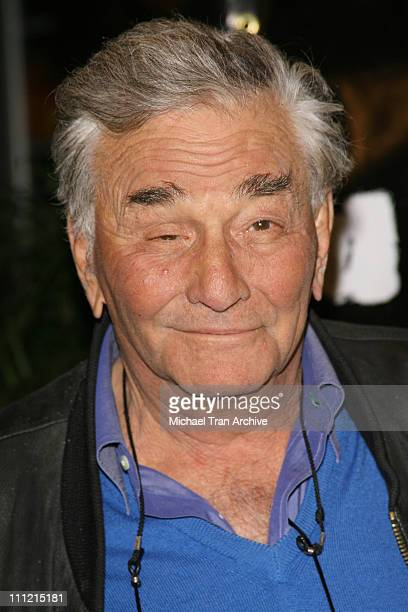 Peter Falk during HGTV's 'Living with Ed' Special Screening Arrivals at Laemmel Sunset 5 Cinemas in West Hollywood California United States