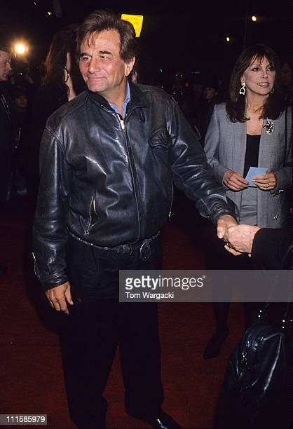 Peter Falk during Peter Falk Sighting at a Film Premiere in New York New York United States