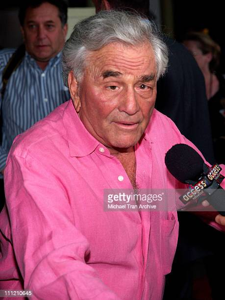 Peter Falk during 'The Thing About My Folks' Los Angeles Premiere Arrivals at ArcLight Theaters in Los Angeles California United States