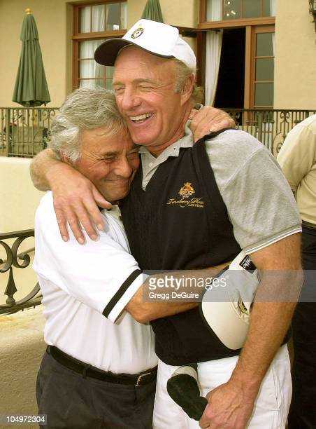 Peter Falk James Caan during 3rd Annual Elizabeth Glaser Pediatric Aids Foundation Celebrity Golf Classic at Riviera Country Club in Pacific...