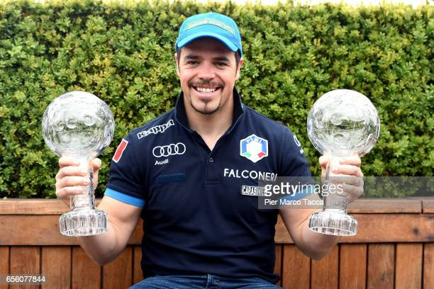 Peter Fill attends a FISI press conference at Terrazza Martini on March 21 2017 in Milan Italy