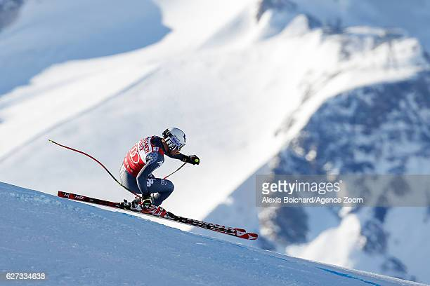 Peter Fill of Italy competes during the Audi FIS Alpine Ski World Cup Men's Downhill on December 3 2016 in Val d'Isere France