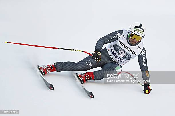 Peter Fill of Italy competes during the Audi FIS Alpine Ski World Cup Men's Downhill on January 27 2017 in GarmischPartenkirchen Germany