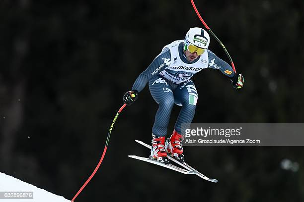 Peter Fill of Italy competes during the Audi FIS Alpine Ski World Cup Men's Downhill on January 28 2017 in GarmischPartenkirchen Germany