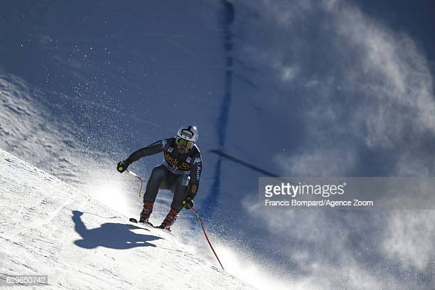 Peter Fill of Italy in action during the Audi FIS Alpine Ski World Cup Men's Downhill Training on December 14 2016 in Val Gardena Italy
