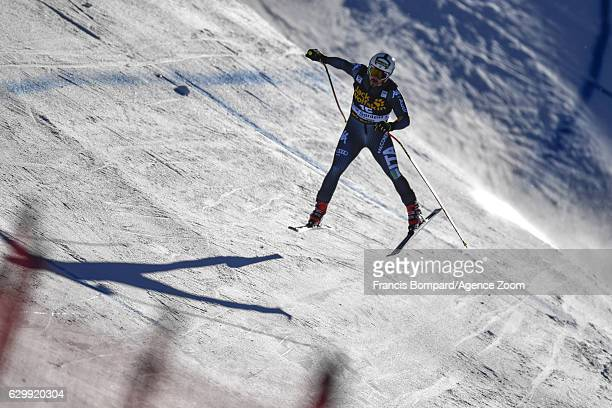 Peter Fill of Italy in action during the Audi FIS Alpine Ski World Cup Men's Downhill Training on December 15 2016 in Val Gardena Italy
