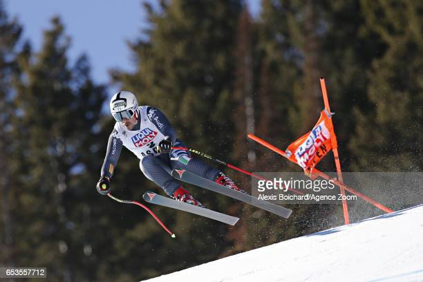 Peter Fill of Italy takes 2nd place during the Audi FIS Alpine Ski World Cup Finals Women's and Men's Downhill on March 15 2017 in Aspen Colorado